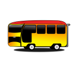 Animated bus
