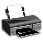 openclipart on printer