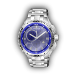 Photorealistic vector image of wristwatch