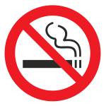 p01 znak zapreschaetsya kurit no smoking sign