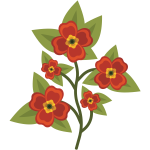 pansy flower vector pdv