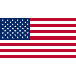 Flag of the United States vector graphics
