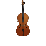 Cello vector image