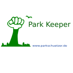 Park Keeper poster vector illustration