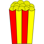 Popcorn vector illustration