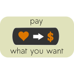 Pay What You Want Button