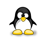 Vector illustration of a penguine