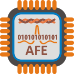 ADSL AFE microprocessor vector image