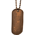 photorealistic dogtags