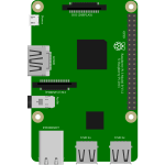 Raspberry Pi3 GPIO Diagram with Pi