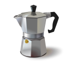 Coffee machine vector graphics