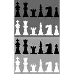 2D Chess set - Pieces