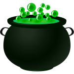 Bubbling potion