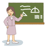 Female teacher image