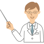 Doctor with pointer