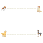 Dogs and bones frame