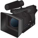 Professional television camera