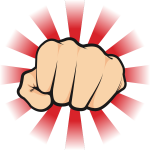 Hard punch icon