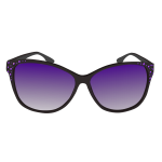 Purple sunglasses vector image