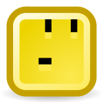 Joking smiley vector icon