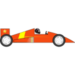 Race car vector clip art
