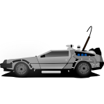 Car delorean