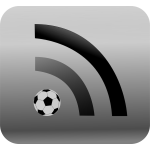 RSS feed for sport news vector image