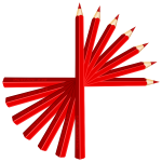Red pencils
