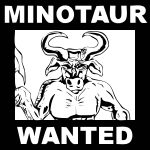Minotaur wanted poster