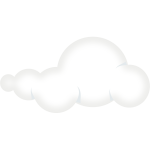 Set of soft clouds 2