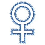 Skyline female symbol