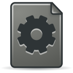 Grey plugin icon
