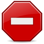 Red error icon