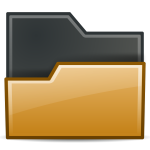Brown directory icon