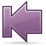 Purple arrow icon