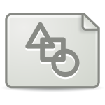 Vector image of mimetype icon