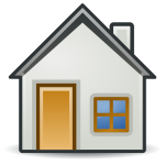 Outlined house icon
