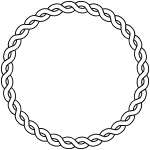 rope border circle