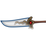 An Old Style RPG Sword