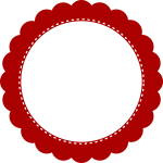 Red simple seal