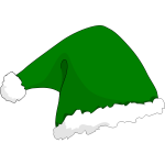Elf hat vector
