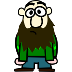 Cartoon man with beard-1574352519