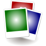 Vector clip art of photo gallery icon