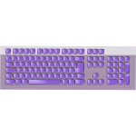 Purple keyboard vector image