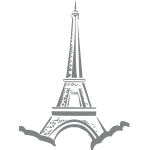 Eifflel tower vector image