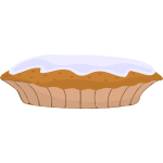 Cartoon pie