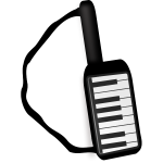 Keytar musical instrument