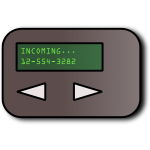 Simple pager