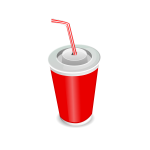 Vector illustration of soda cup