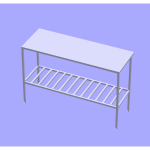 solid model table